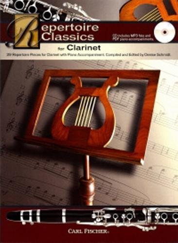 Repertoire Classics Clarinet Book & Cd