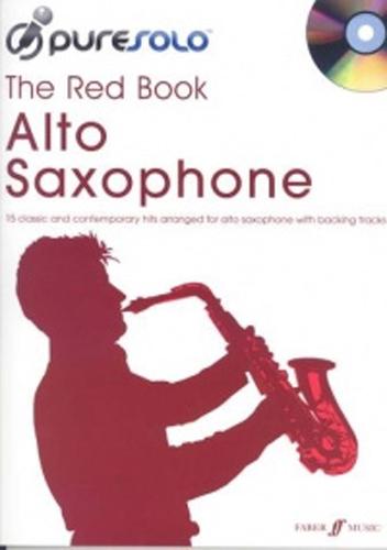 Pure Solo The Red Book Alto Saxophone Book & Cd
