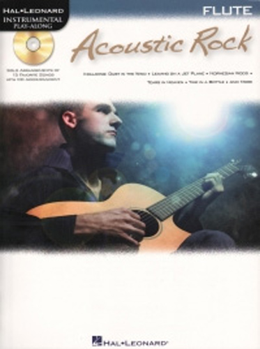 Acoustic Rock Instrumental Play Along Flute + Cd