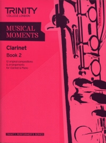 Musical Moments Clarinet Book 2 Score & Part