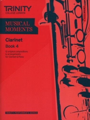 Musical Moments Clarinet Book 4 Score & Part