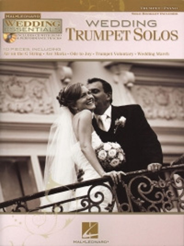 Wedding Trumpet Solos Wedding Essentials Book &Cd
