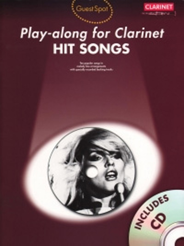 Guest Spot Hit Songs Clarinet Book & Cd