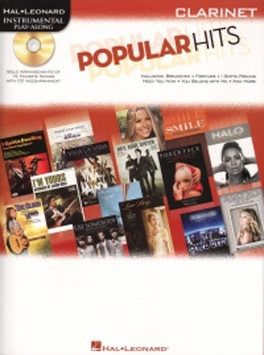 Popular Hits Instrumental Play Along Clarinet + Cd