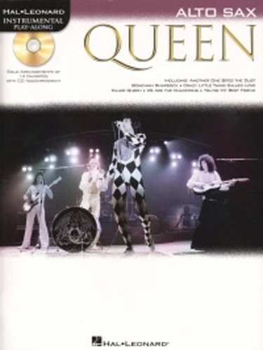 Queen Instrumental Play Along Alto Sax + Cd