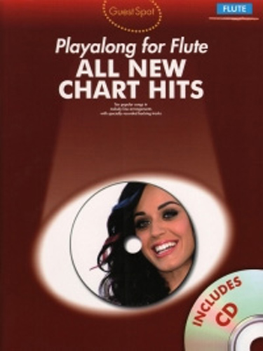 Guest Spot All New Chart Hits Flute Book & Cd