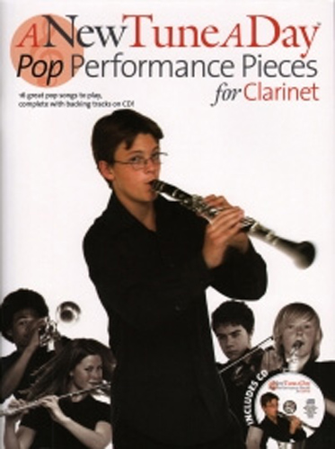 New Tune A Day Pop Performance Pieces Clarinet + Cd