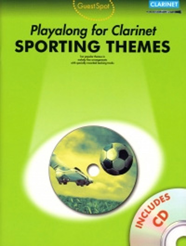Guest Spot Sporting Themes Clarinet Book & Cd