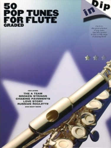 Dip In 50 Graded Pop Tunes Flute