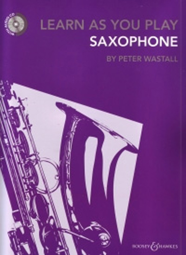 Learn As You Play Saxophone Book & Cd Wastall