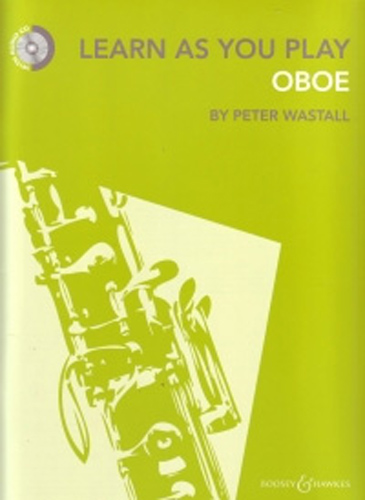 Learn As You Play Oboe Book & Cd Wastall