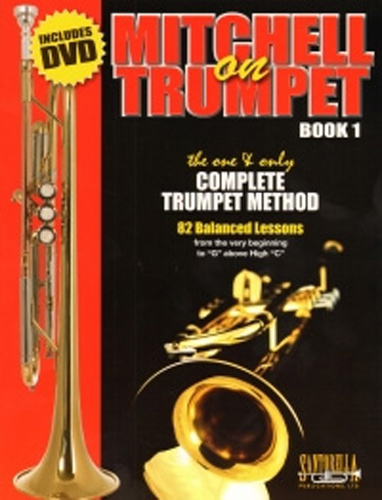 Mitchell On Trumpet Book 1 Lessons + Dvd