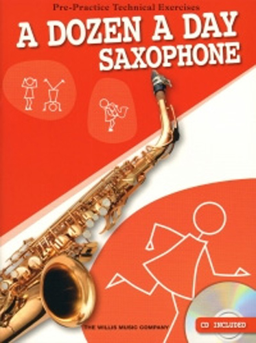 Dozen A Day Saxophone alto Book & Cd