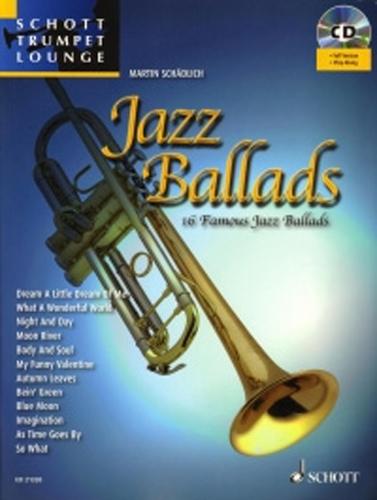 Jazz Ballads Trumpet + Cd Schott Trumpet Lounge