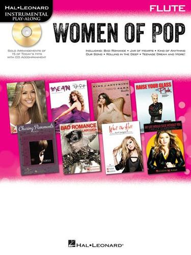 Women Of Pop Instrumental Play Along Flute + Cd