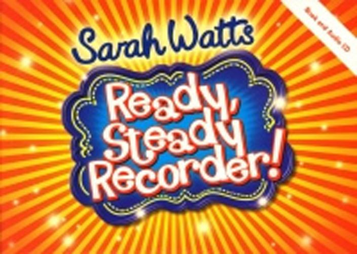 Ready Steady Recorder Watts Pupils Book +Cd