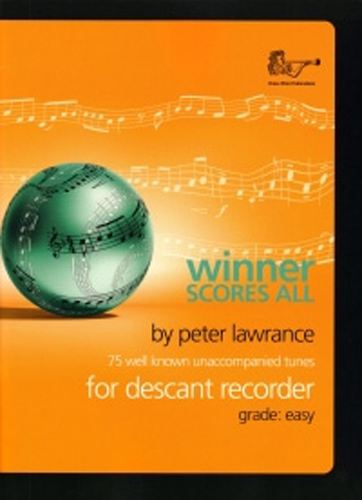 Winner Scores All Lawrance Descant Recorder