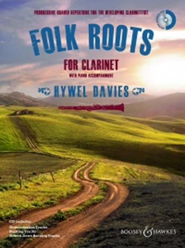 Folk Roots For Clarinet Davies Book & Cd