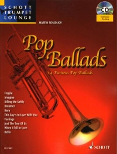 Pop Ballads Schadlich +Cd Schott Trumpet Lounge