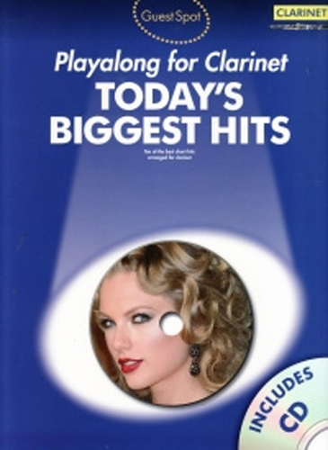 Guest Spot Todays Biggest Hits Clarinet Book & Cd
