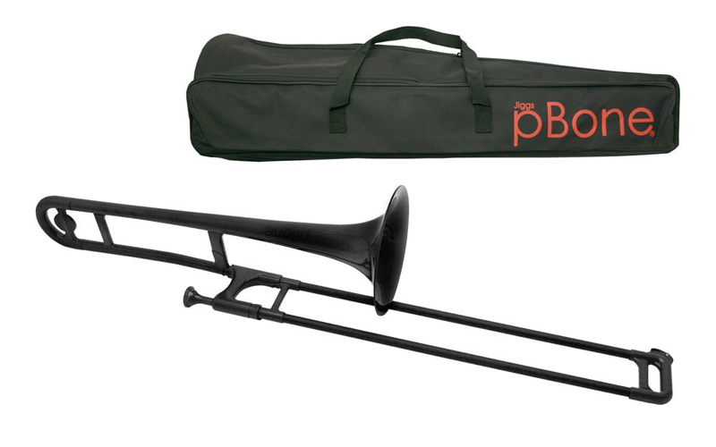 pBone Plastic Trombone - Black