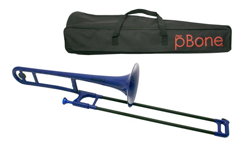 pBone Plastic Trombone - Blue