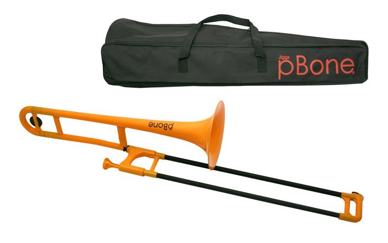 pBone Plastic Trombone - Yellow
