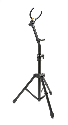 Hercules DS730BB High Alto or Tenor Sax Stand - Auto Grip System AJS146