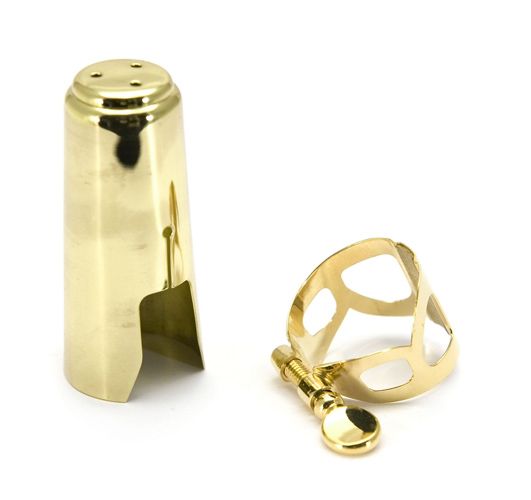 BG L81 Tradition Eb Clarinet Ligature & Cap - Gold Plated