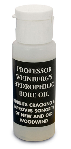 Clarinet and Woodwind Bore Oil by Professor Weinberg
