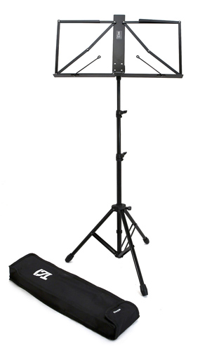 TGI Music Stand with Bag - MS450 Lightweight Black