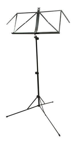 K&M 101 - 3 Section Lightweight - Black Music Stand