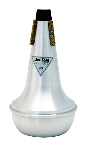 Jo-Ral Tenor Trombone Mute - Straight - Aluminium