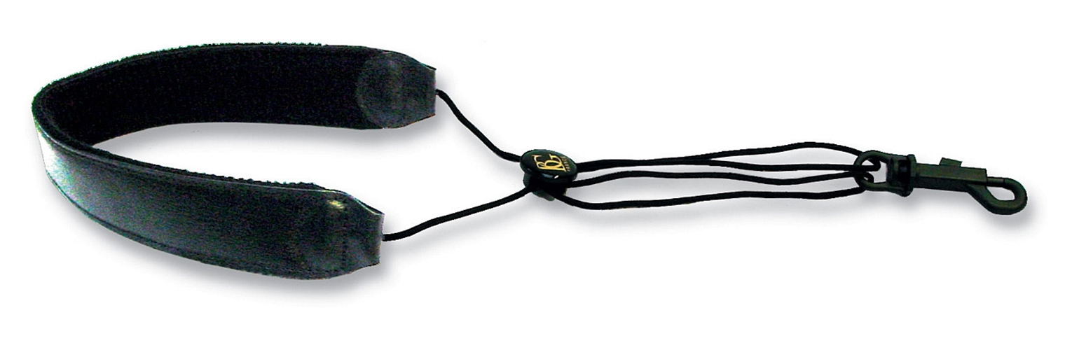 BG Sax Sling S20SH - Leather with Neckpad and Plastic Hook