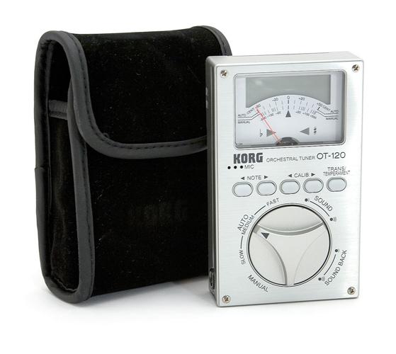 Korg OT-120 - Chromatic Orchestral Tuner