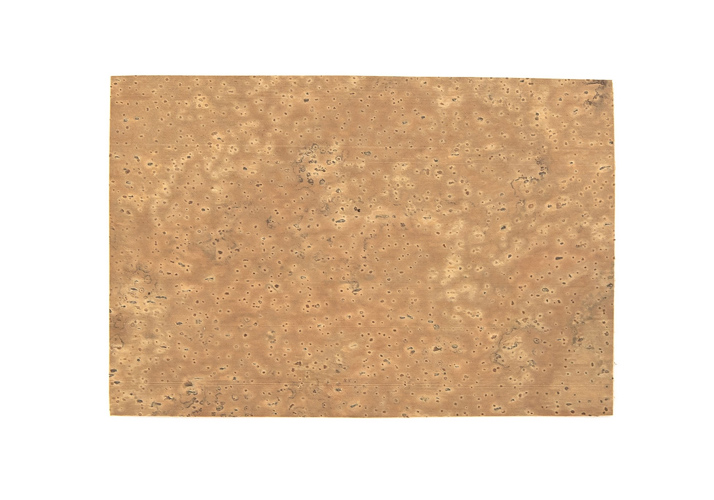 Natural Cork Sheet 15cmx10cm Thickness 1.0mm