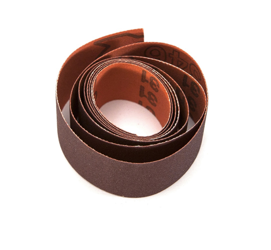 RB 346 J-Flex Abrasive Tape 120 Grit 1m x 25mm Strip