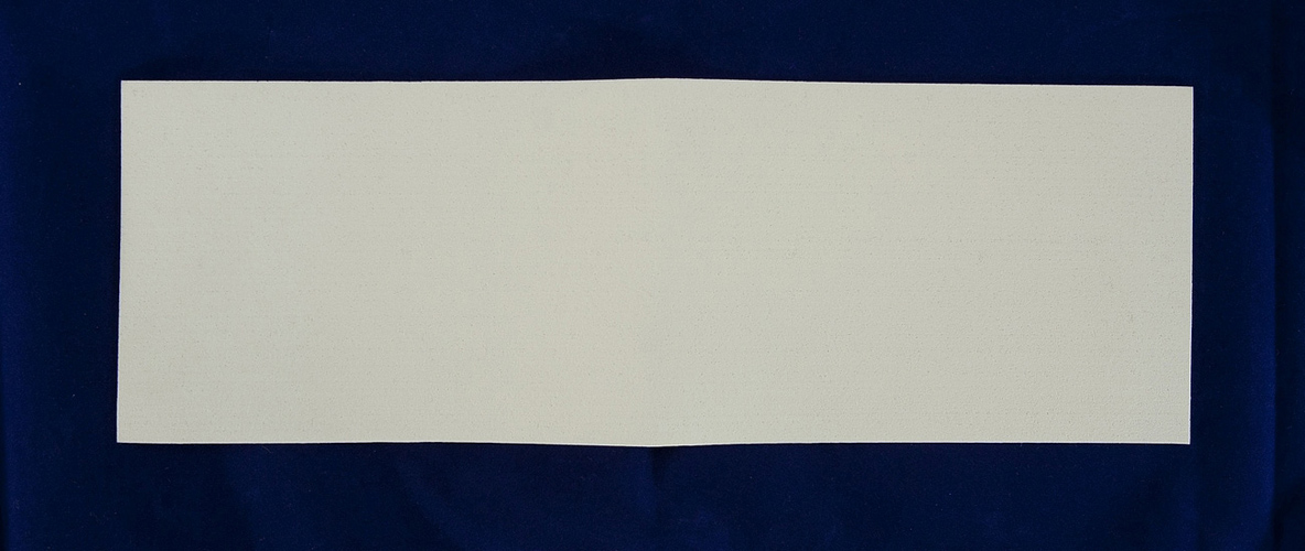 Synthetic Sheet Felt - 100x300x0.5mm White