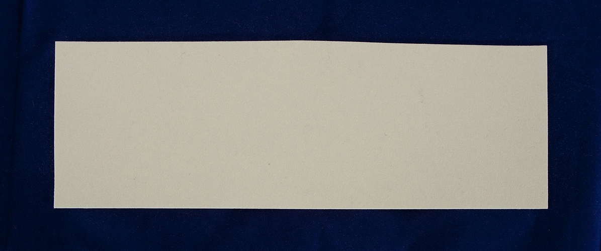1.2mm Sheet Felt- 100x300 Treated Pressed White