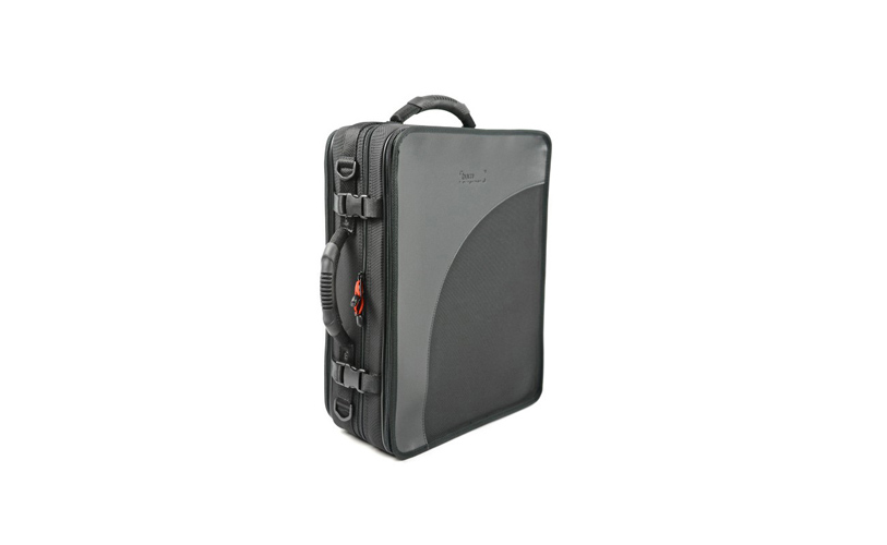 BAM Trekking Bb and A Double Clarinet Case - Black
