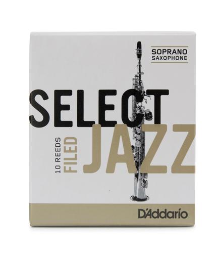 Select Jazz Soprano Saxophone Reeds Filed