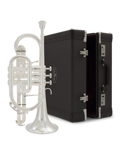 Besson Sovereign BE928GS Silver Plated - Cornet