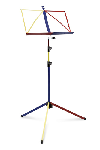 K&M 3 Section Deluxe 100/1 Music Stand - Rainbow