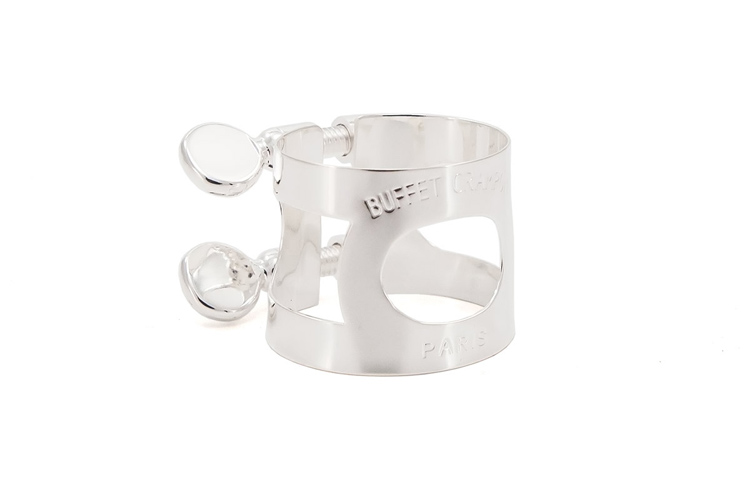 Buffet Bb Clarinet Ligature - Silver Plated