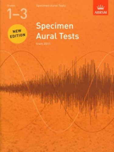 Specimen Aural Tests Revised 1-3 Abrsm