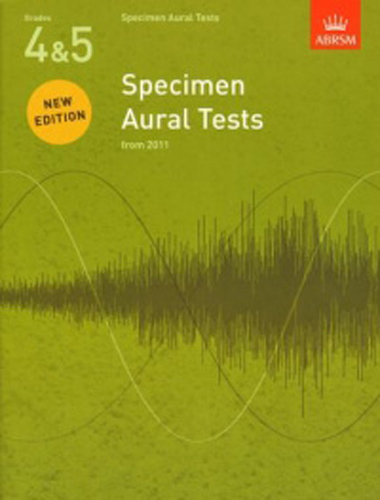 Specimen Aural Tests Revised 4-5 Abrsm