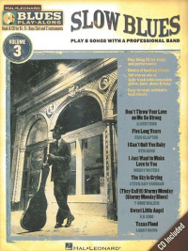 Blues Play Along 03 Slow Blues Book & Cd