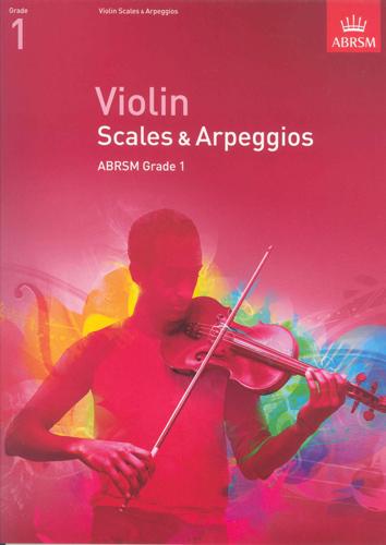 Violin Scales & Arpeggios 2012 Grade 1 Abrsm