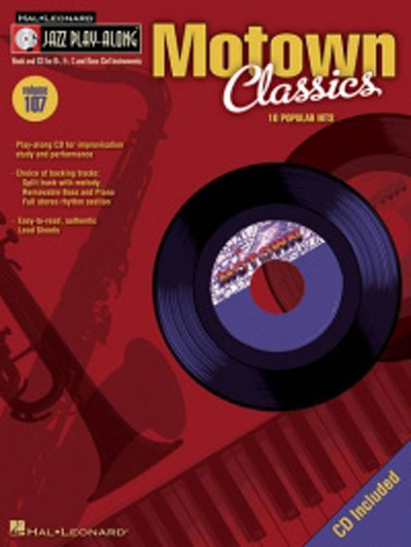 Jazz Play Along 107 Motown Classics Book & Cd