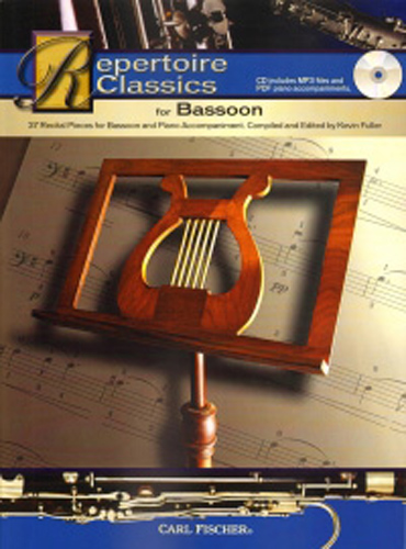Repertoire Classics Bassoon Book & Cd